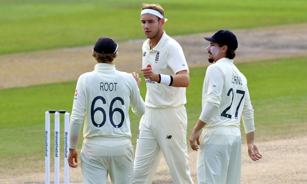 'He's off my Christmas card list': Stuart Broad fined £2,000 by father