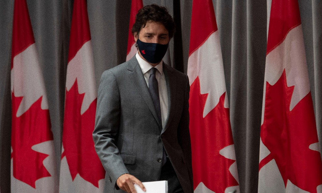 Canada has handled coronavirus outbreak better than US, Trudeau says