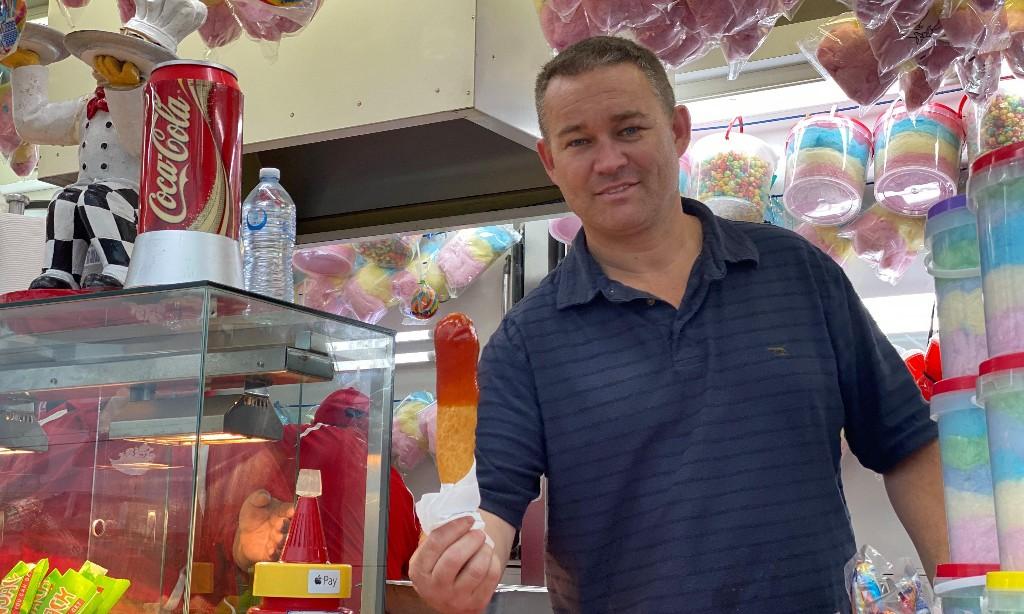'A bit of joy': Dagwood dog vendor fights to keep Brisbane's Ekka spirit alive