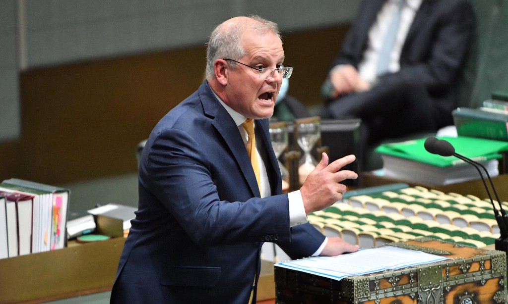 Is Scott Morrison angry that public servants got Cartier watches – or that the public found out?