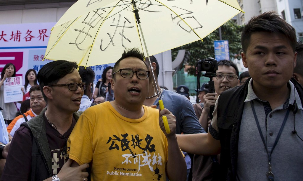 Hong Kong activist denied bail after being charged with sedition