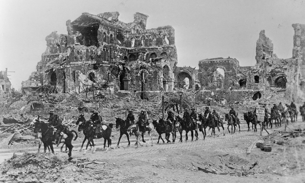 Archive, 2 October 1925: more than 100,000 horses killed or wounded in the first world war