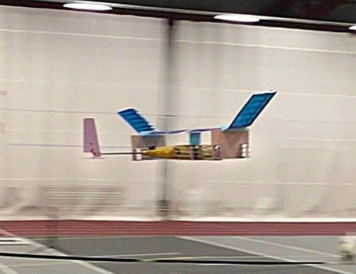 First ever plane with no moving parts takes flight