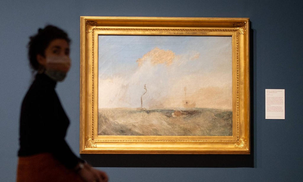 JMW Turner sketch for The Fighting Temeraire on display for first time