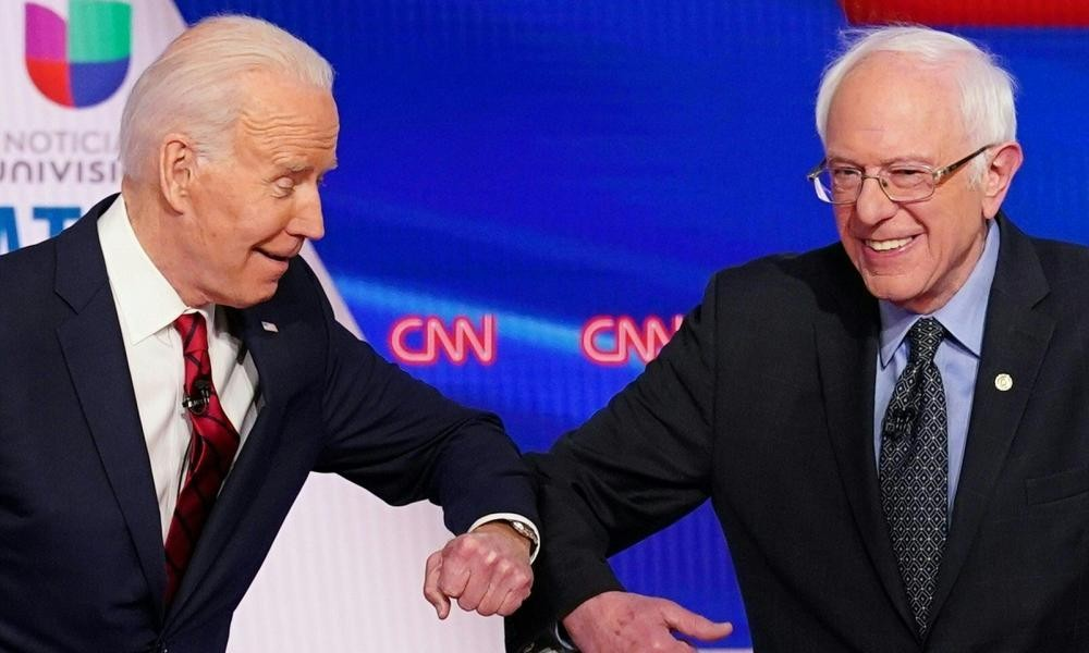 Bernie Sanders' campaign still 'assessing' but focusing on a more pressing issue: coronavirus