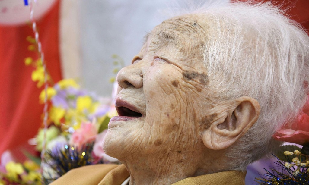 Woman, 117, marks becoming Japan's oldest ever person with cola and boardgames