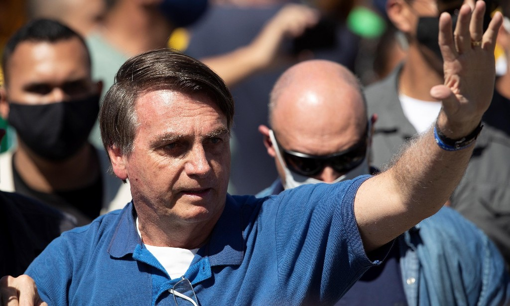 Brazil's Jair Bolsonaro tested again for coronavirus