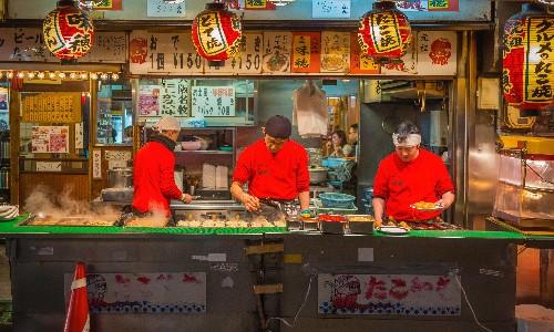 A foodie tour of Osaka, Japan