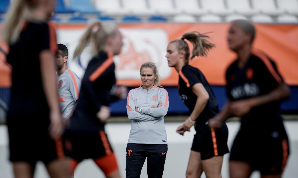 Power naps and big steaks: meet Sarina Wiegman, new England Women head coach