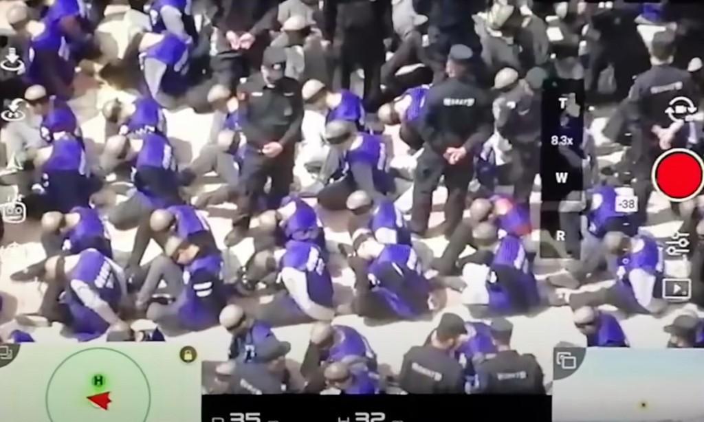 China's UK ambassador denies abuse of Uighurs despite fresh drone footage