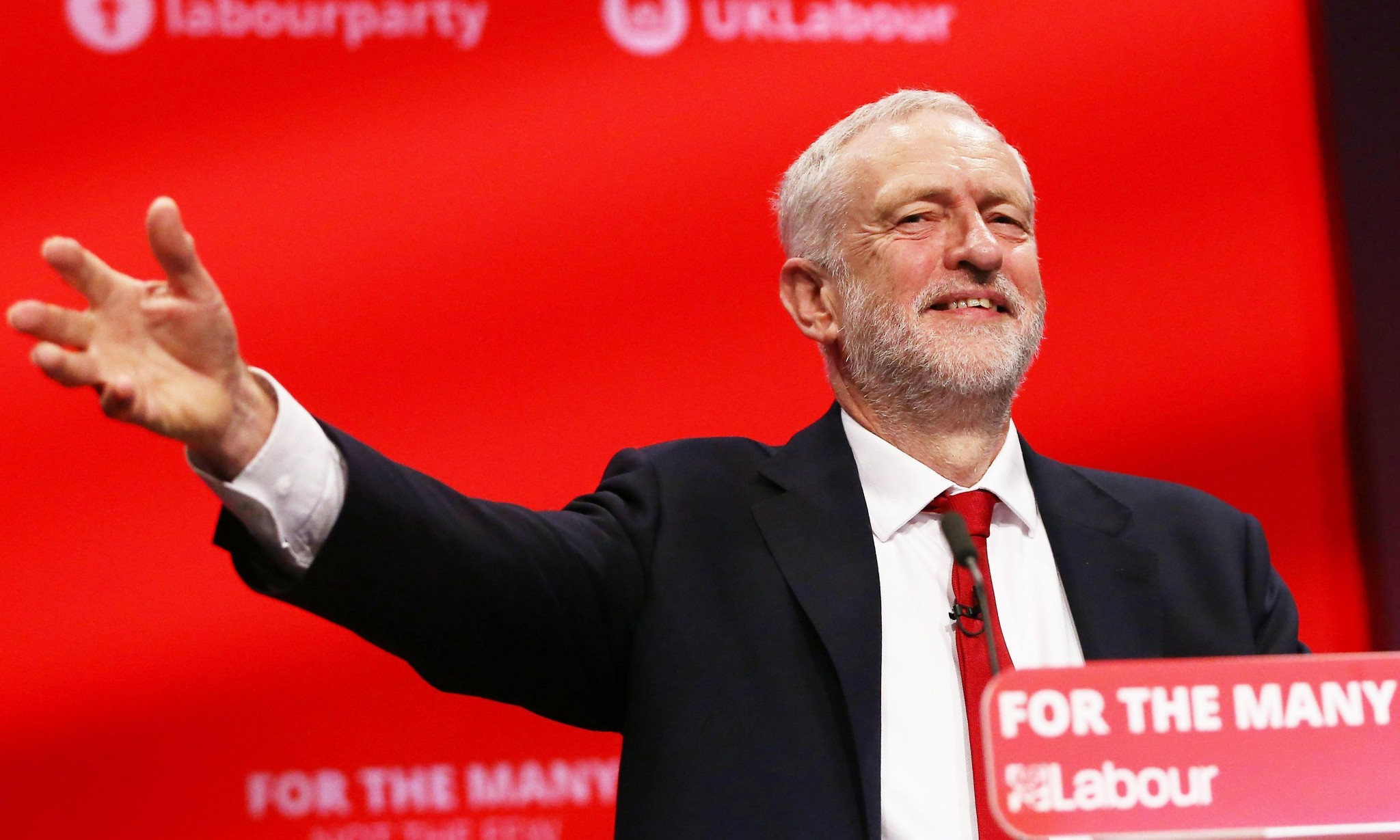 Jeremy Corbyn: neoliberalism is broken and we are now the centre ground
