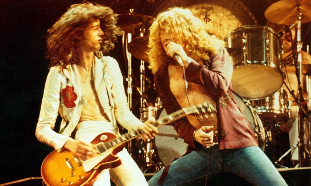Led Zeppelin - Magazine cover