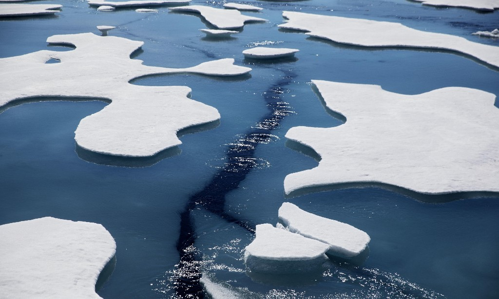 Rising temperatures shrink Arctic sea ice to second-lowest level on record