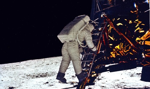 One giant ... lie? Why so many people still think the moon landings were faked