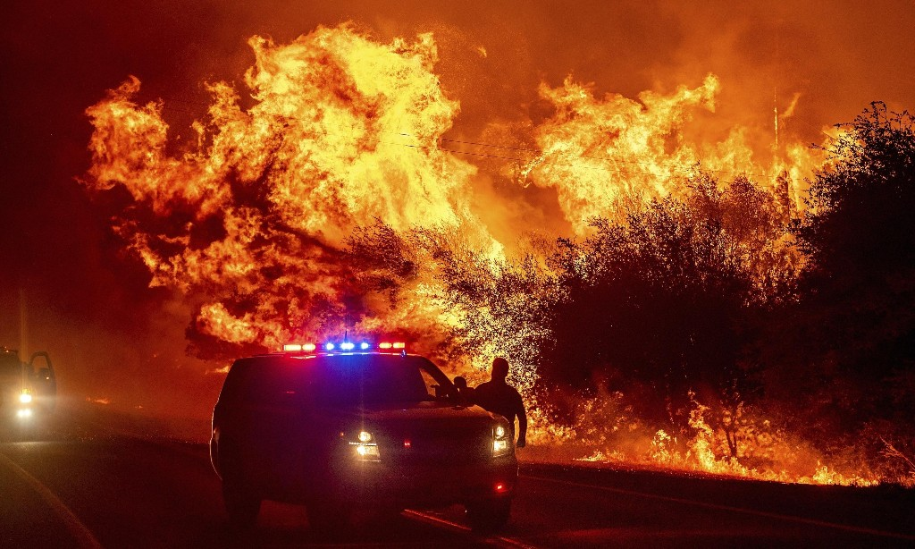 California fires: local groups fill in gaps as Black and Latino communities are left to prepare on their own