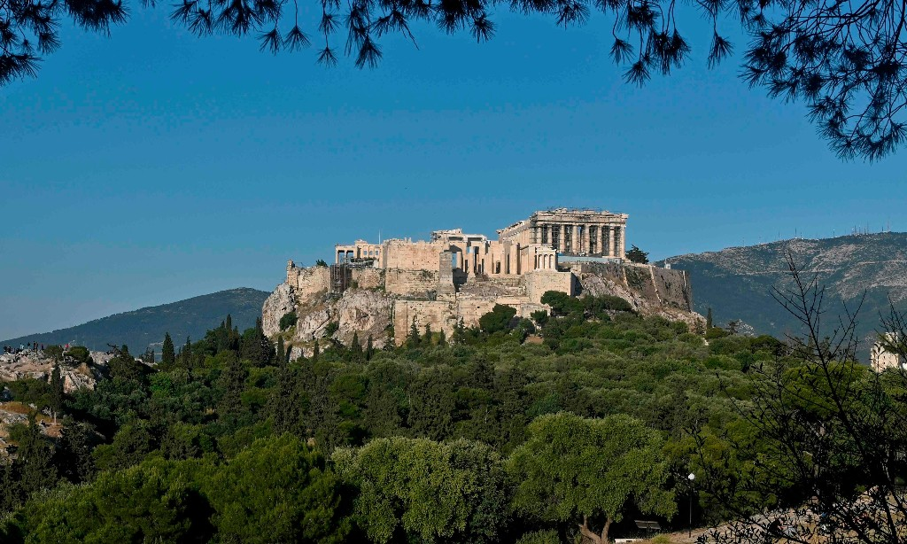 Life after lockdown in Athens: 'The marble had space to breathe'