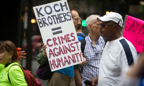 The Koch brothers tried to build a plutocracy in the name of freedom