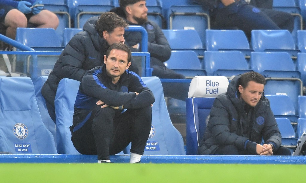 Frank Lampard says pressure is on Chelsea 'every game' until season ends