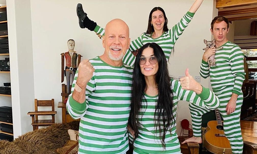 Quarantine divorcees: why Bruce Willis and Demi Moore are isolating together