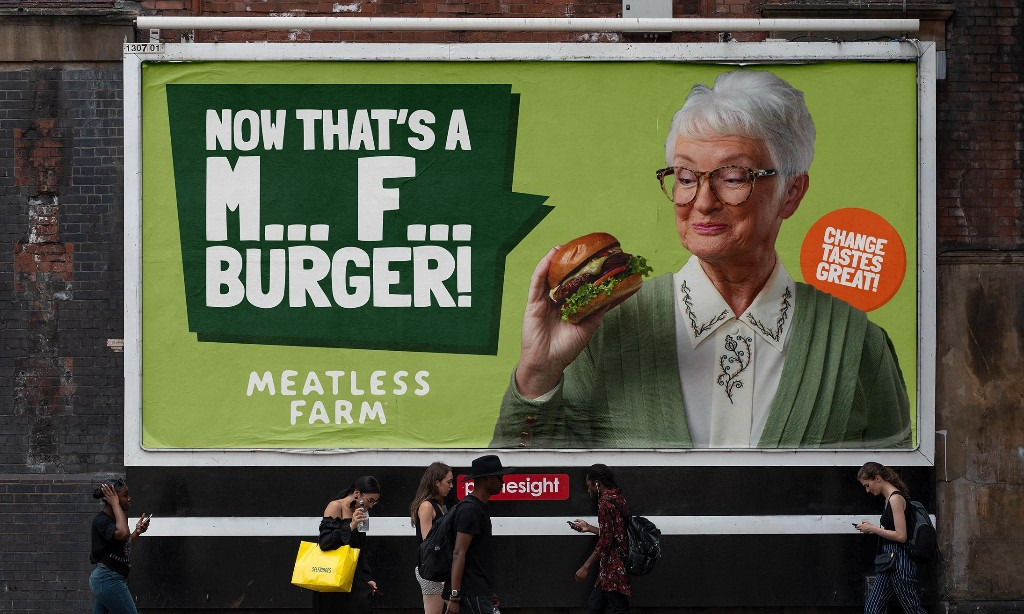 Vegan food company provokes with M*** F*** advertising campaign