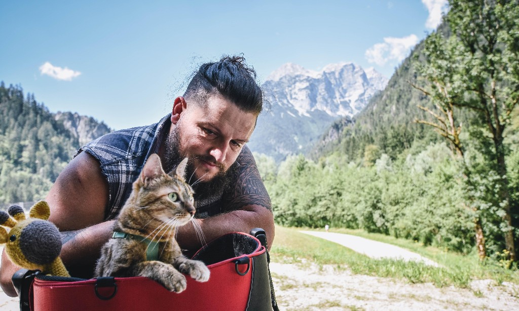 Nala's World by Dean Nicholson – one man and his cat