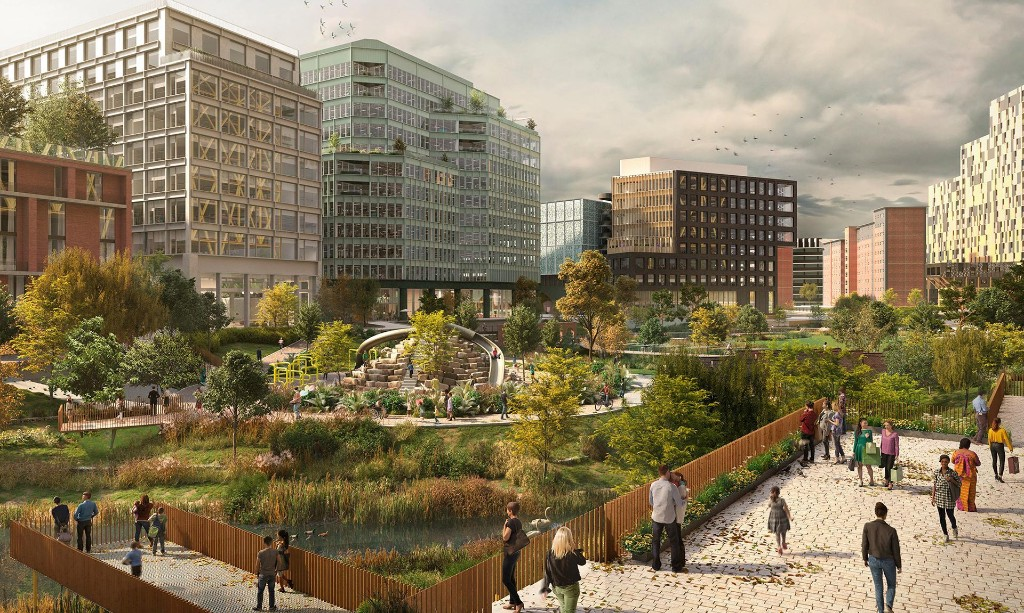 Manchester to build first city-centre park in 100 years