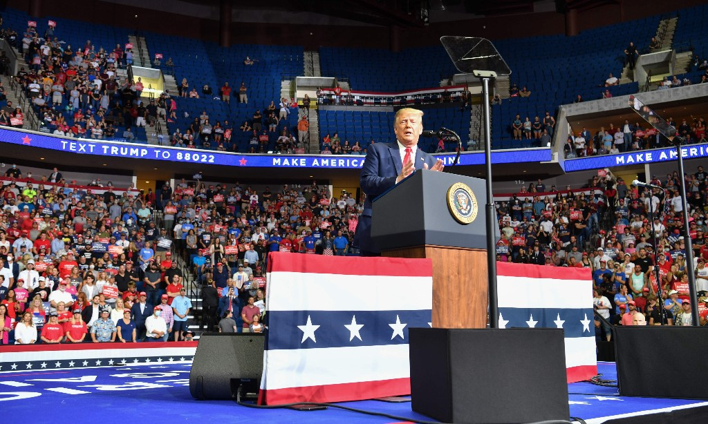 Don't call it a comeback: Trump's Tulsa rally was just another sad farce