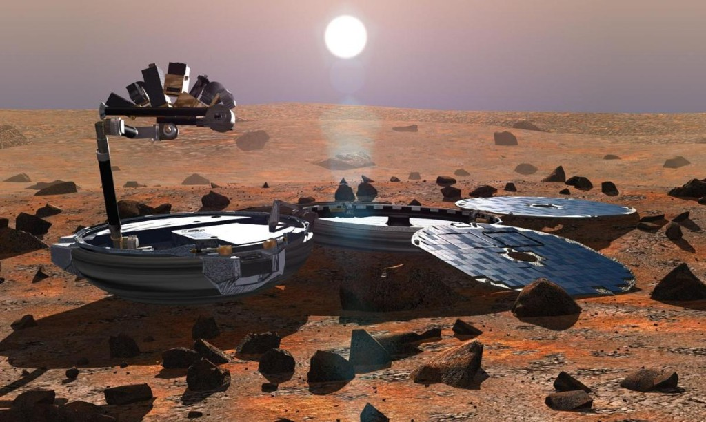 Lost Beagle 2 spacecraft found intact on surface of Mars after 11 years