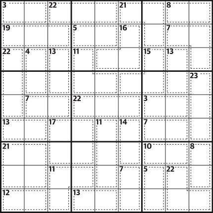 Killer sudoku 711