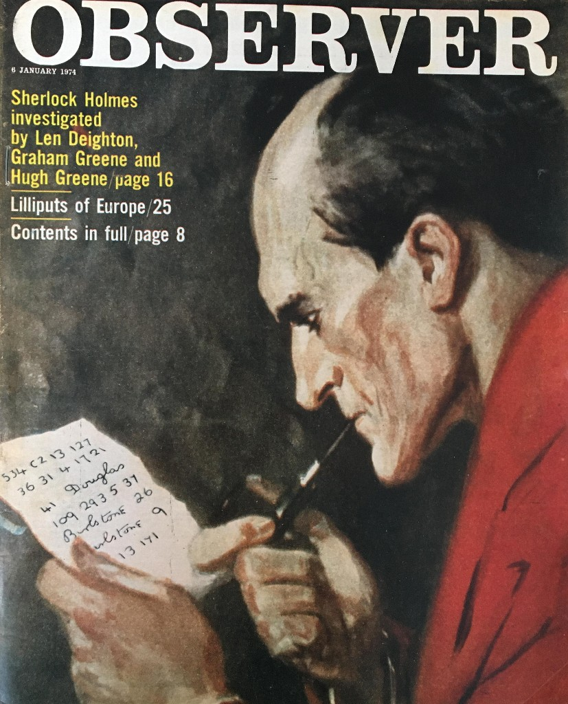 From the archive: in search of Sherlock Holmes, January 1974