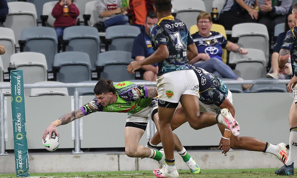 NRL roundup: Canberra sneak home against the Cowboys