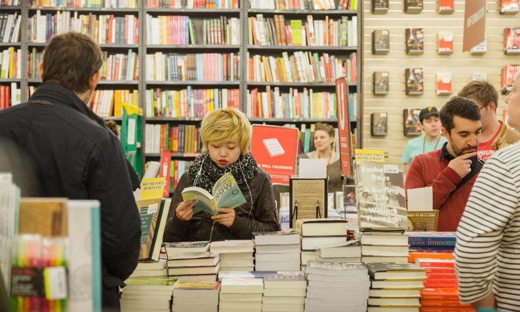 Bookshops - Magazine cover