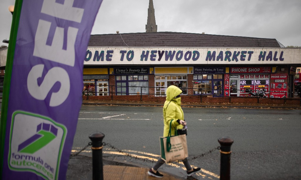 'I wouldn't vote Tory again': frustration in newly blue Heywood