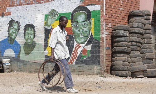 'He left us in this mess': Harare reacts to Mugabe's death