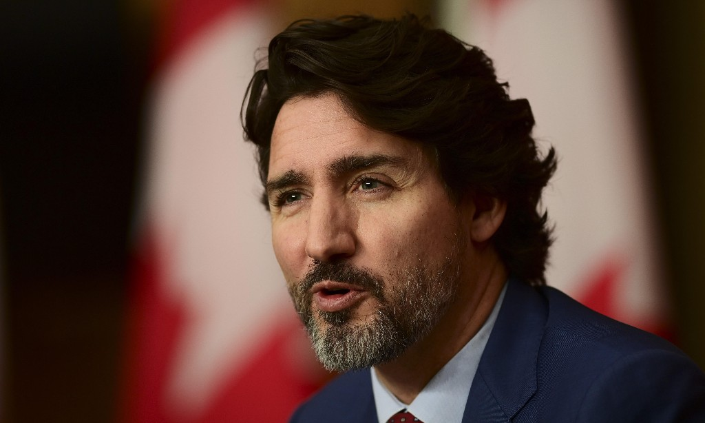 Justin Trudeau hits back at China after threat to Canadians in Hong Kong