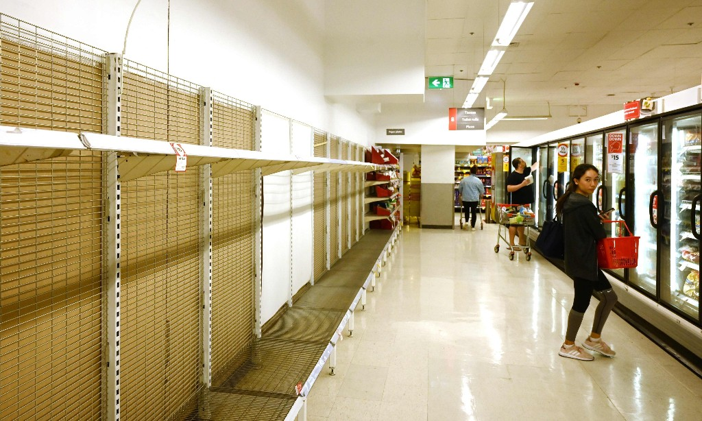Think the world is ending? Grab a shovel, not a shopping trolley