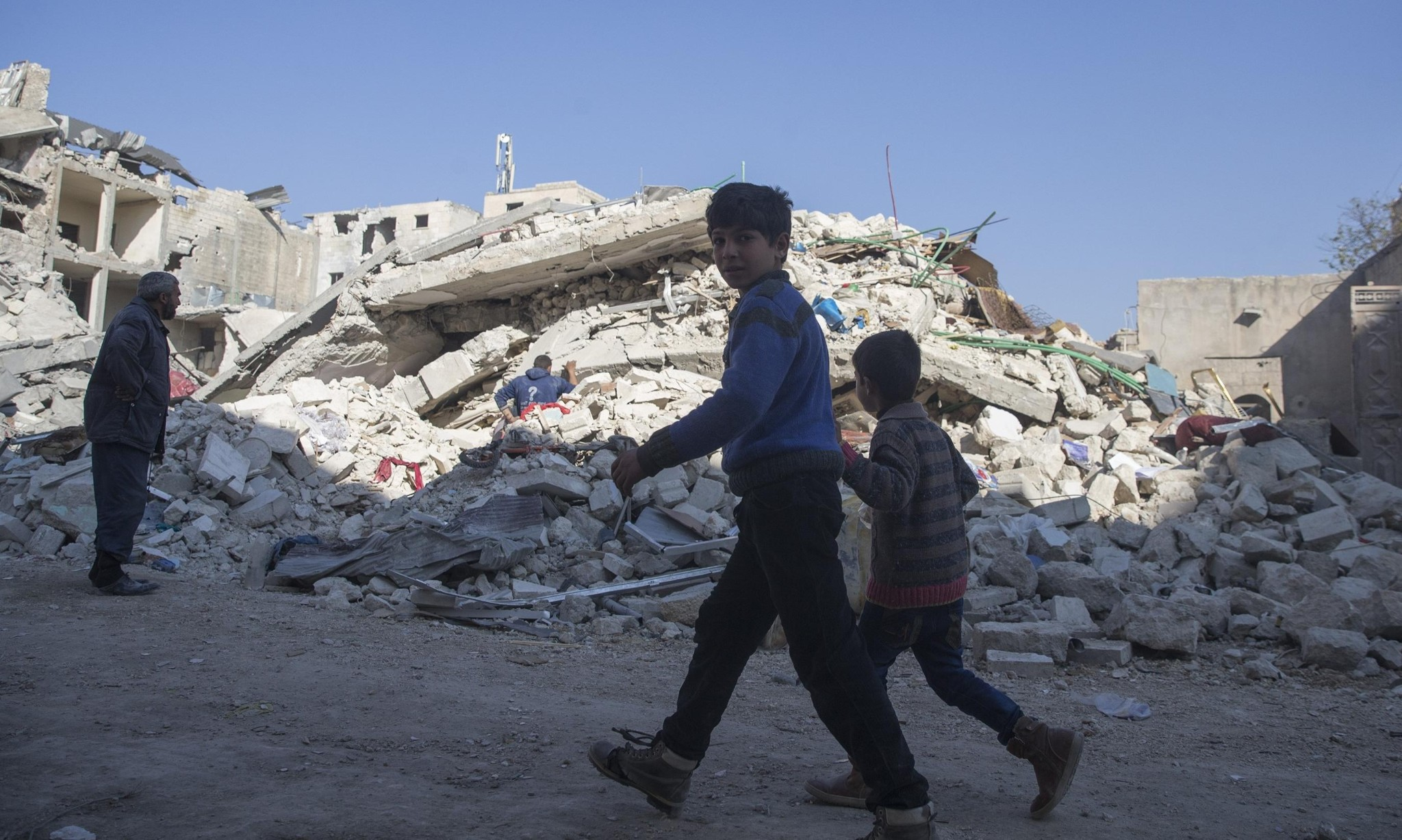 Syrian children suffering staggering levels of trauma, report warns