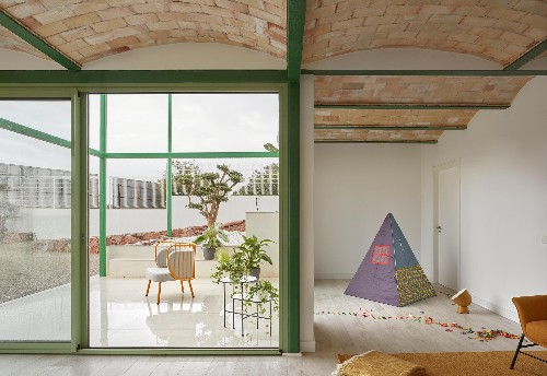Half house, half tent: the startling Spanish villa that breaks all the rules