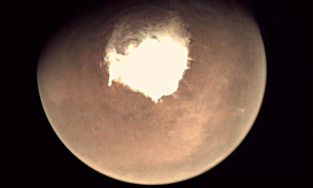 Salty ponds may be under Mars' icy surface, raising prospect of Martian life
