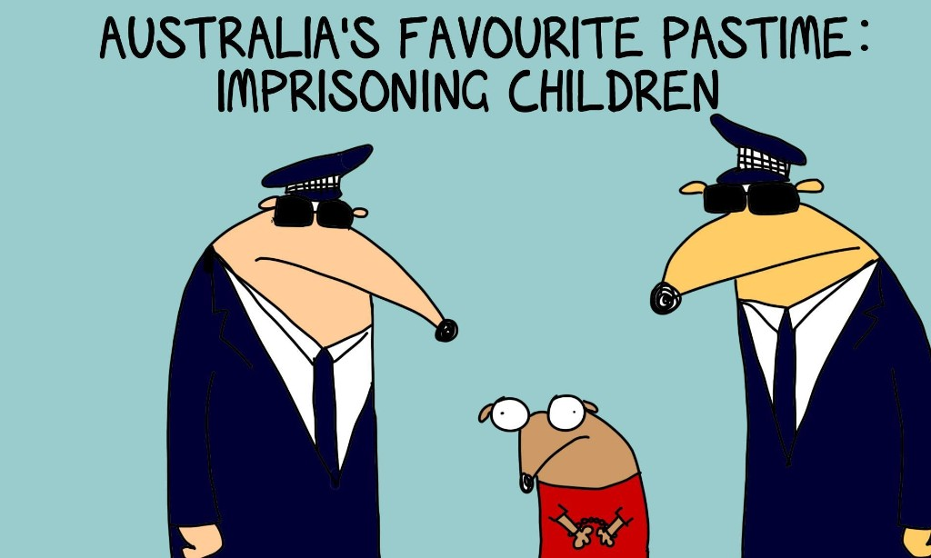 The UN wants Australia to stop locking up children but we enjoy it too much