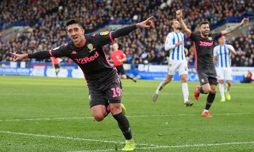 Pablo Hernández seals derby win as Leeds go top at Huddersfield