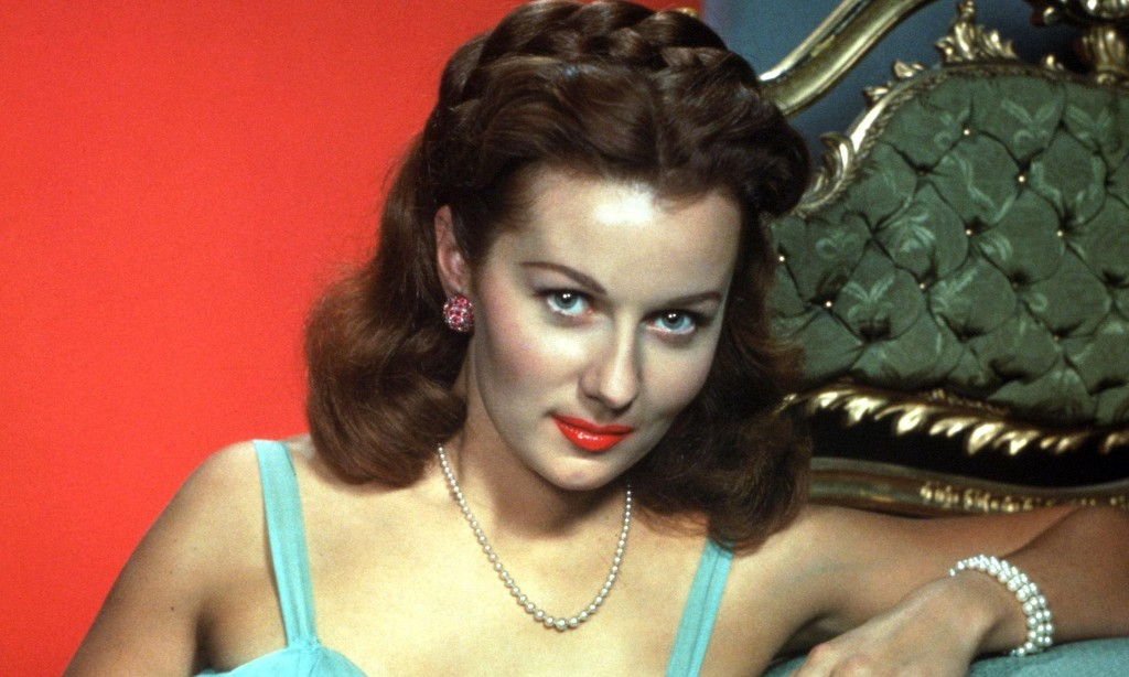 Rhonda Fleming, 'Queen of Technicolor' in the 1940s and 50s, dies aged 97