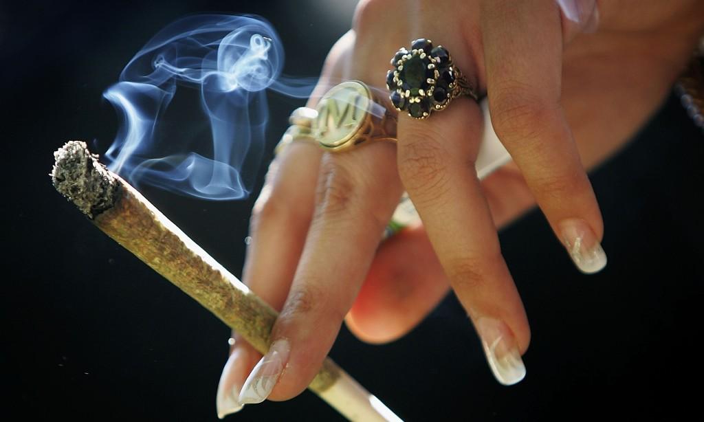 Smoking - Magazine cover