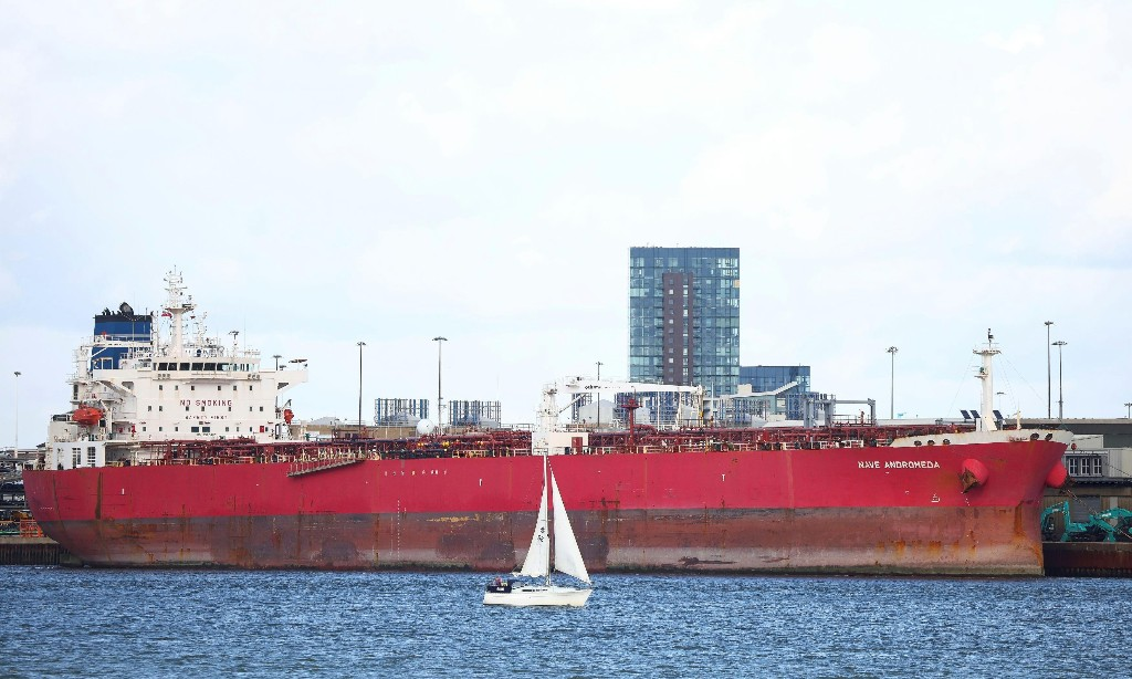 Oil tanker stormed by SBS was denied port access by France and Spain