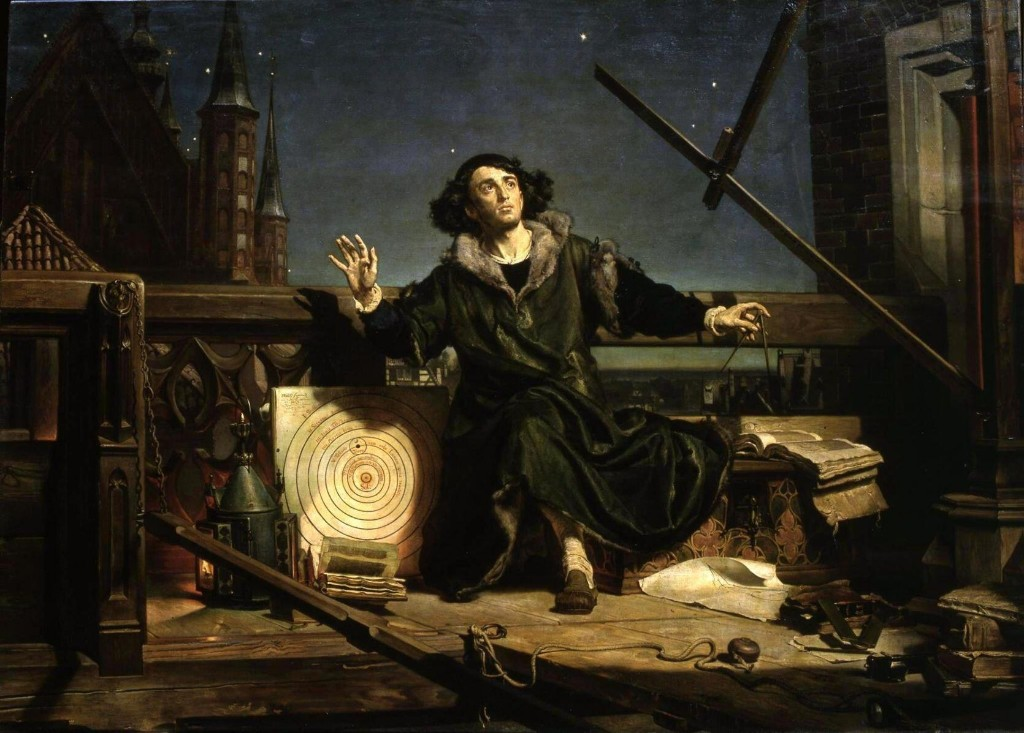 Huge portrait of Copernicus to be seen in UK for first time