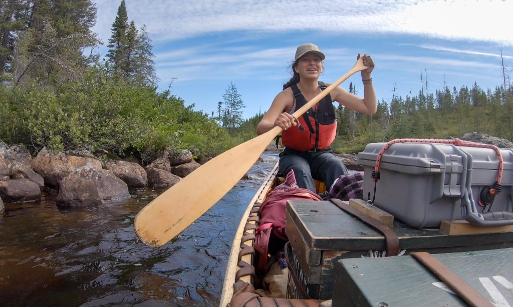 This is an epic adventure, 11 women canoeing for 40 days in the wilds of Canada