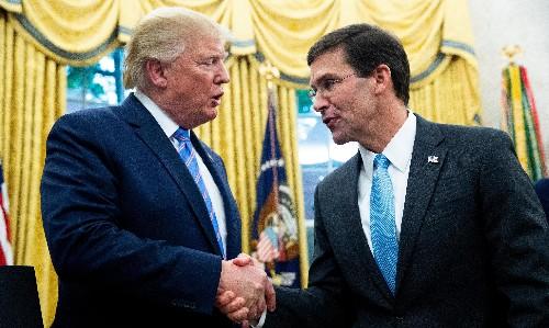 Trump impeachment: Esper indicates Pentagon will cooperate with inquiry