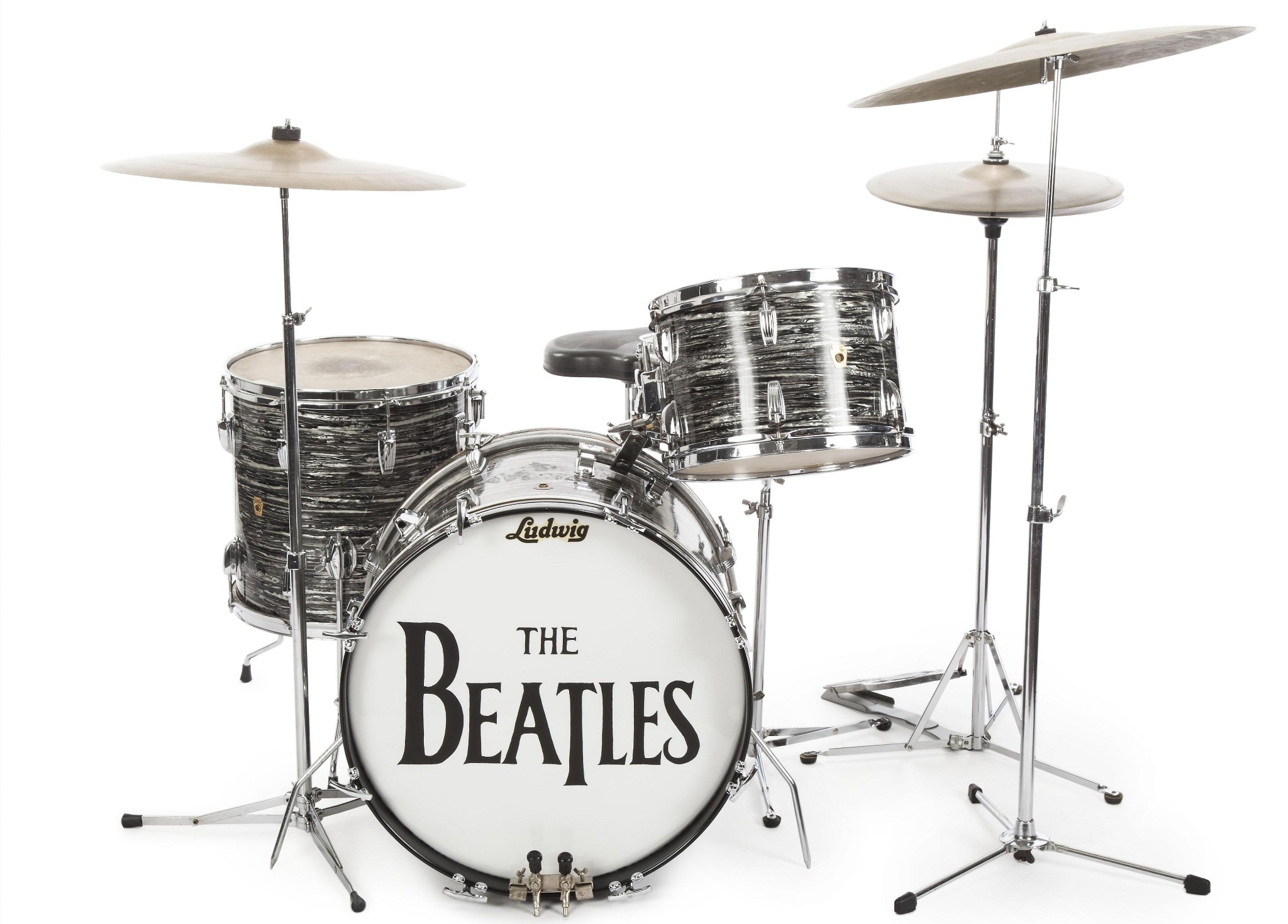 Ringo Starr's Beatles' drum kit sells for $2.2m at auction