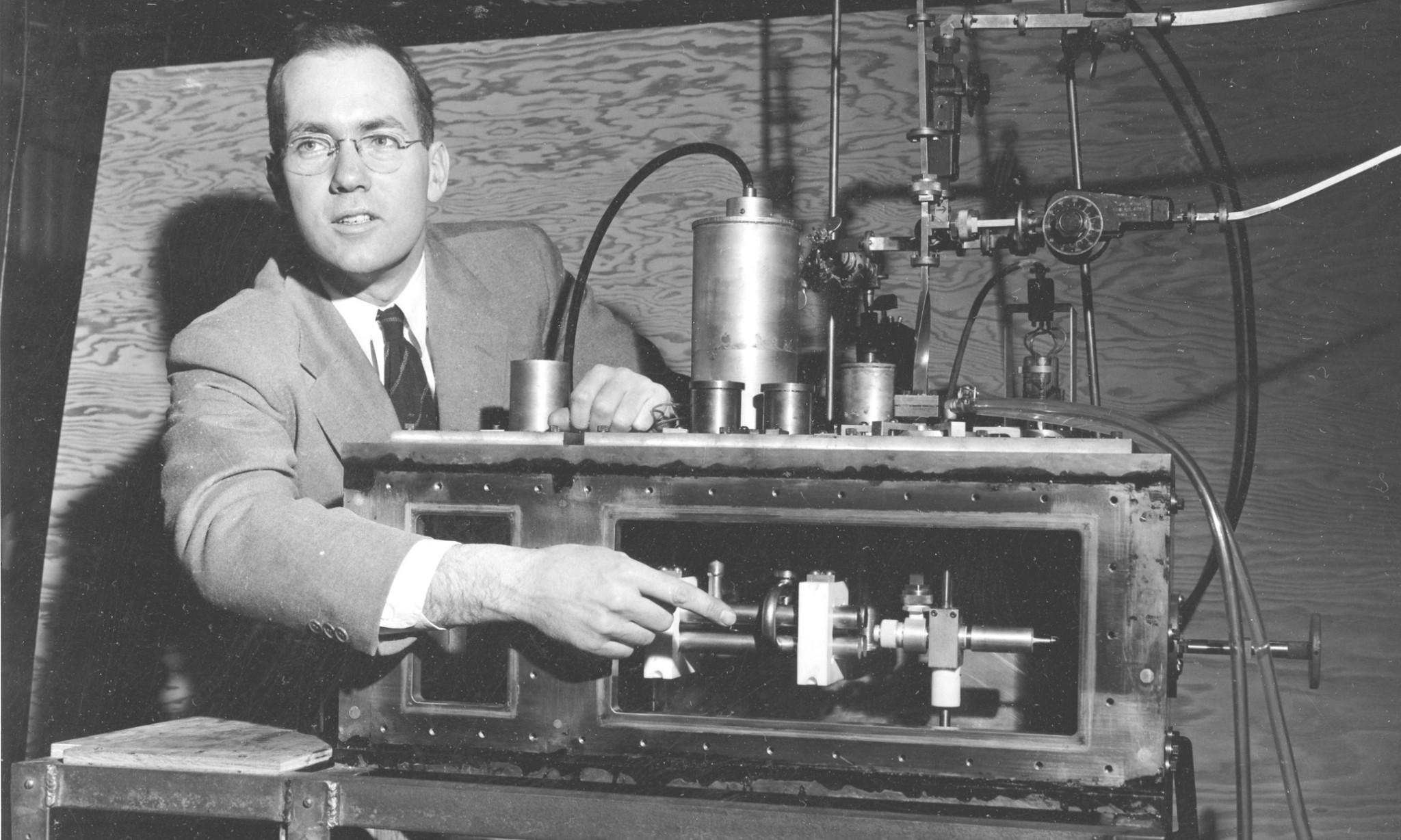 Laser inventor Charles Townes dies