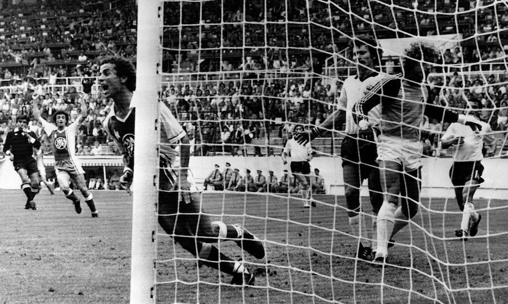 Golden Goal: Lakhdar Belloumi for Algeria v West Germany (1982)